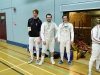 Novice Mens Foil Winners 2012